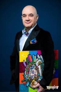 Дмитрий Оскин презентует бабочку и шейный платок бренда FURSA